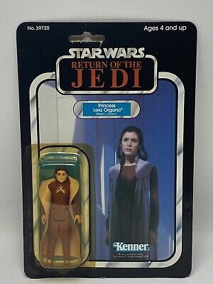 Vintage Star Wars Princess Leia Bespin Gown Carded Action Figure MOC ROTJ Kenner