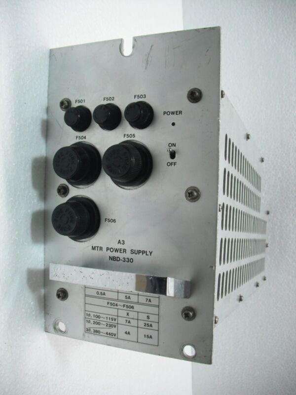 Raytheon Mtr Power Supply Nbd-330