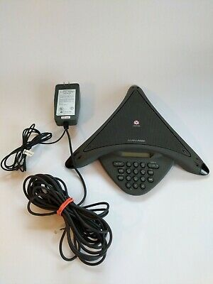 Polycom Soundstation Premier Conference Phone And Premiere Wall Module Power