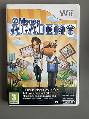 Mensa Academy -Nintendo Wii Game -With Instructions for sale  Shipping to Nigeria