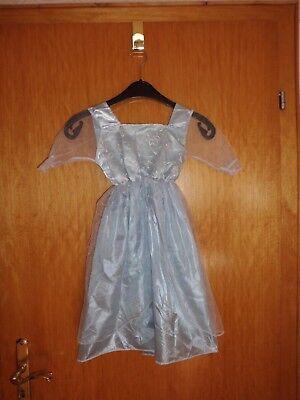 Kostüm - Prinzessin - Fee - hellblau -  Mädchen - Gr. S