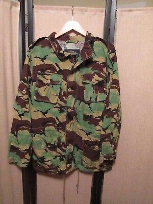 Alpha Industries Camo button zip  Shirt Jacket Sz Large 2013 Maddox NWOT