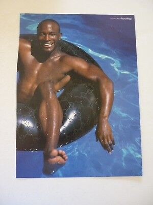 Taye Diggs Katie Holmes Double Sided Coffee Table Book Photo Page 9X12