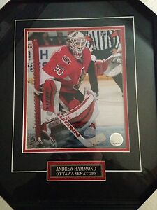 Andrew Hammond picture framed