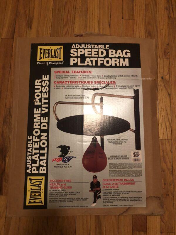 Everlast Speedbag model number 4260 striking bag platform