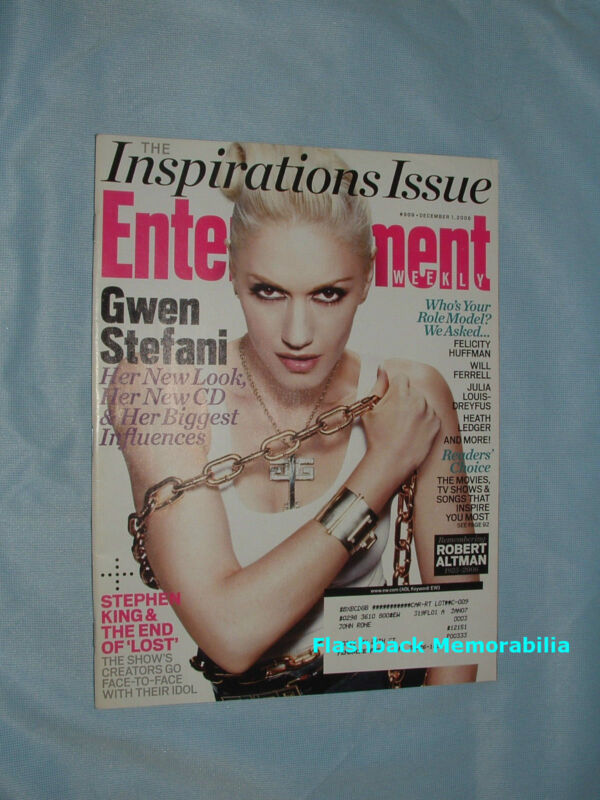 GWEN STEFANI 2006 ENTERTAINMENT WEEKLY MAGAZINE Cover Story JAY-Z No Doubt