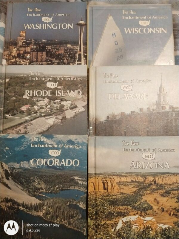 The new enchantment of America hardcover lot
