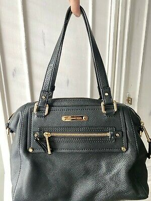 Michael Kors Pebble Leather Handbag Black