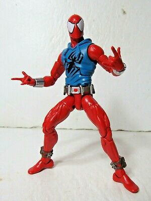 Marvel legends Infinite BAF Rhino series Scarlet Spider-man 6' action figure