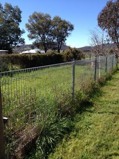 Galvanised Steel fencing, posts and gate Mudgee Mudgee Area Preview