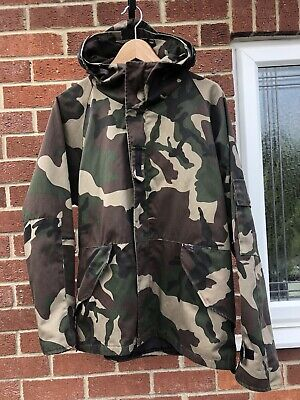 Vans Cammo Lightweight Hooded Jacket Size L