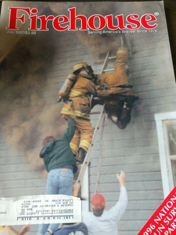 firehouse magazine July 1997