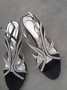 Brand New Black shoes with Diamond finish Brookfield Melton Area Preview