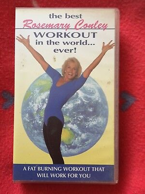 rosemary conley the best workout in the world ever VHS rare 1996 signed (The Best Vhs In The World)
