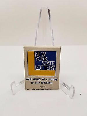 Matchbook New York State Lottery Vintage Matchbooks Strike It Rich