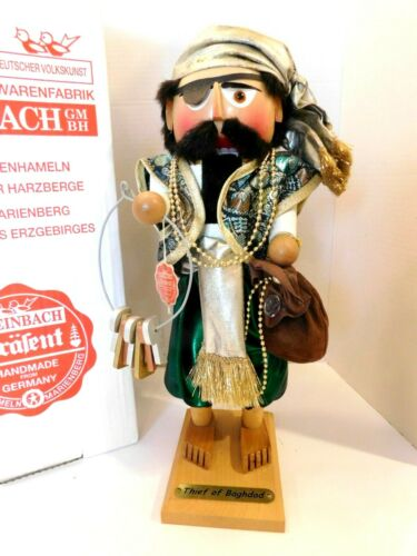 """STEINBACH GERMANY THIEF OF BAGDAD  NUTCRACKER BOXED S-1838 16"""" Number 1040/7500"""