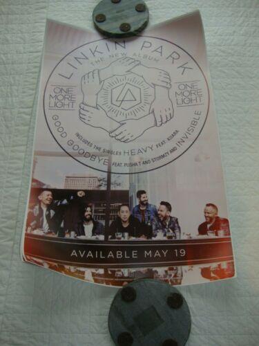 Linkin Park One More Light promo poster
