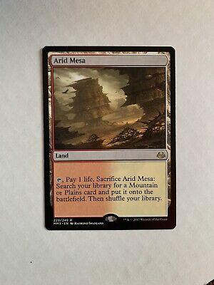 MTG Arid Mesa - MM'17 - NM Magic The Gathering Fetch Land