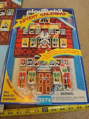 Playmobil, Christmas holiday advent calendar 3974. Complete! Use for any year!