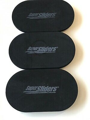 3ct. Pre-owned Ez-sliders Reusable Protective Padded Furniture Movers 3.5 X 6