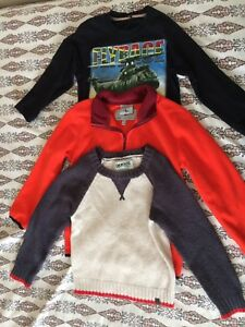 Boys long sleeves T-Shirt  & Sweaters - 5T