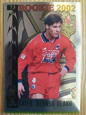 Mundicromo Liga 2002 new card Rookie #73 Xabi Alonso - Real Sociedad