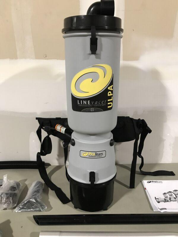 ProTeam Vacuum Backpack 10 Quart LineVacer Backpack ULPA Vacuum