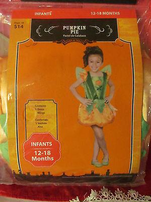 Pumpkin Pie Halloween Costume 12 to 18 Months - Pumpkin Pie Costume