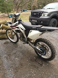 2006 Crf250r lots of work done