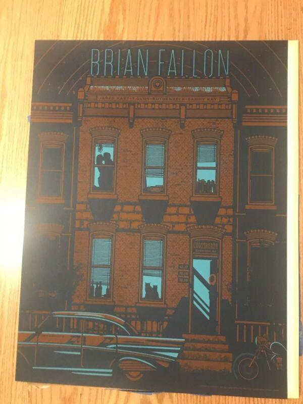 Brian Fallon Crossroads Poster