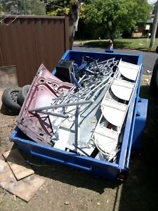Free trailer & scrap metal