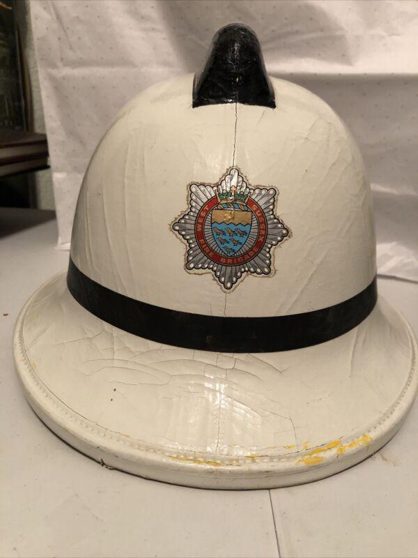 west sussex fire brigade cromwell helmet 1983 medium