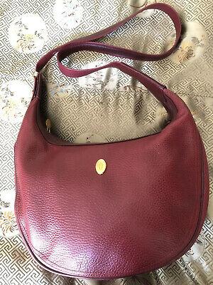 Genuine Must de Cartier Shoulder Bag Adjustable Vintage Purse