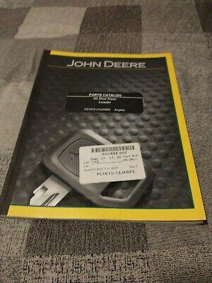 John Deere 60 Skid Steer Loader Parts Manual Catalog Pc1615