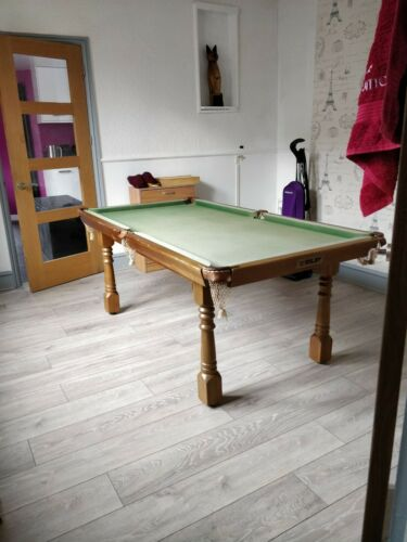 6ft slate bed snooker table