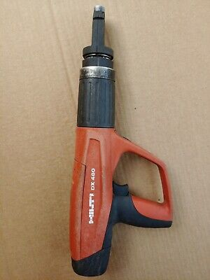 Hilti Dx-460 Powder Actuated Nail Gun W F8 Fastener Guide Fast Shipping
