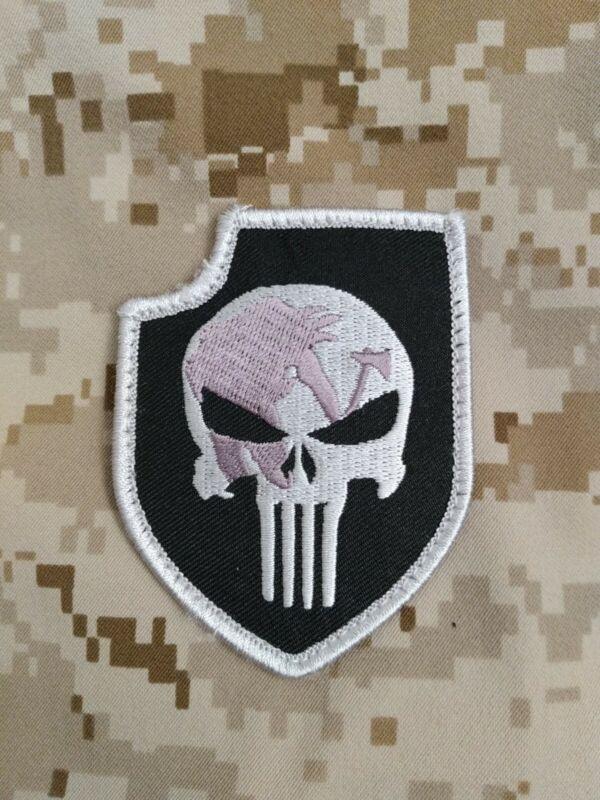 Seal Team 3 Delta Platoon Punisher patch. NSW, NSWDG