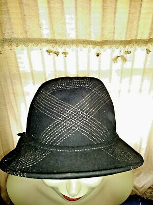 Used, BLOW OUT SALE @ ATTENTION for J CREW Stitched Bucket Derby Fedora Hat ❤️ts17j for sale  Amherst