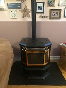 Working Pellet stove for sale
