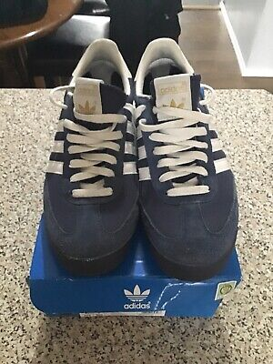 mens adidas dragon trainers size 9 Excellent With Box