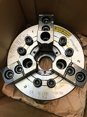 New Auto Strong N206 Hi-speed 3-jaw Open Center 6 Power Chuck