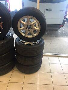 "Mercedes 16"" Rims Wheels Tyres W220 S350 S500 S320 Jamisontown Penrith Area Preview"