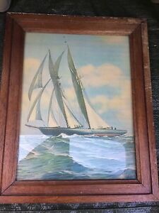 Framed print of the Marco Polo