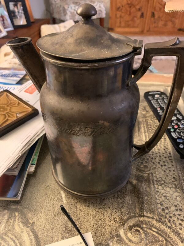 Vintage International Silver Co. . The Fairmont  hotel pitcher