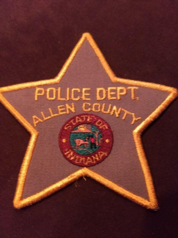 Allen County Police Dept. Indiana IN - New