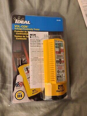 Ideal 61-076 Vol-con Solenoid Voltage Tester