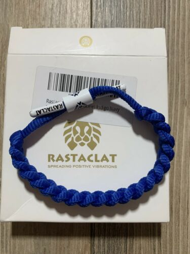 RASTACLAT Classic Bracelet Blue Indigo Navy, NEW - $11.00