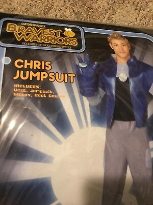 CHRIS Jumpsuit from Bravest Warriors! Cosplay Dress Up Costume Adult Large - Halloween Costumes From Spirit