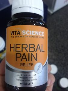 Vita Science Herbal pain relief Strathfield Strathfield Area Preview