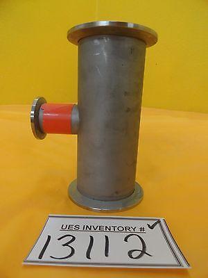 Edwards High Vacuum Tube Tee Nw50 Nw25 Iqdp Series Copper Used Working